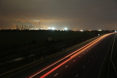 At Night M62 East 2