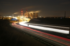 Ferrybridge at Night A1 North 3