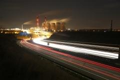 Ferrybridge at Night A1 North 3