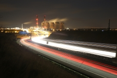 Ferrybridge at Night A1 North 4