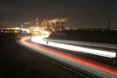 Ferrybridge at Night A1 North 4