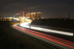 Ferrybridge at Night A1 North 5