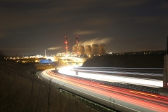 Ferrybridge at Night A1 North 6