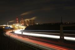 Ferrybridge at Night A1 North 7