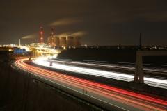Ferrybridge at Night A1 North 8