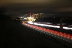 Ferrybridge at Night A1 North 10
