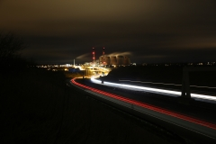Ferrybridge at Night A1 North 11